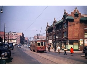 Rogers Avenue Trolley 1947