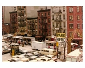 Rooftop view of Mott Street 1970  Downtown Manhattan