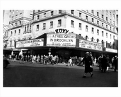 Roxy Theater 7th Ave 50th Street Midtown Manhattan 1946 NYC