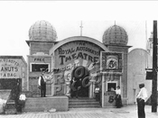 Royal Automaton Theater at Bergen Beach boardwalk, 1910