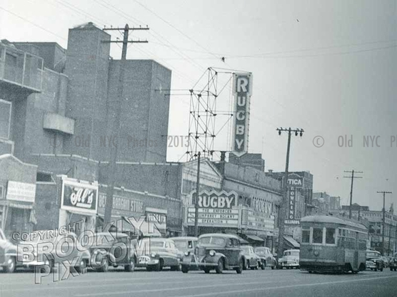 Rugby Theater, 8236 Utica Avenue near Church Avenue, East Flatbush, 1951