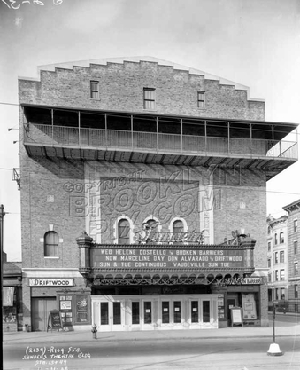 Sanders Theater, now the Pavillion, at Bartel-Pritchard Square, 1928