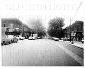 Saratoga Ave looking north facing Newport Avenue Livonia EL 1966