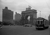 Scene at Grand Army Plaza, c.1950