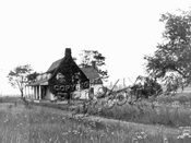 Schenck Homestead near E.63rd St. and Ave. U. Removed 1952; reassembled in Brooklyn Museum, 1964