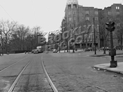 Sea Breeze Avenue looking west to Ocean Parkway / Surf Avenue, 1947