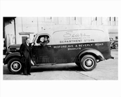 Sears truck outisde its Flatbush location - Flatbush 1948 Brooklyn NY