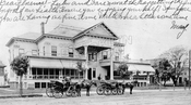 Sheepshead Bay Club, west side Ocean Avenue near Voorhies Avenue, 1906