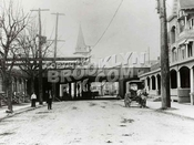 Sheepshead Bay Road_Saint Mark Church seen beyond Brighton Line structure, 1908