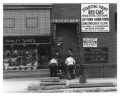 Shoe Shiners on Broadway & 40th Street  - Midtown Manhattan - 1915