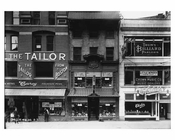 Shopfronts on Broadway - Midtown Manhattan - 1915