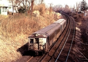 SIRT  Great Kills - North side 1973 Staten Island NY