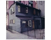 Small Black House Greenwich Village