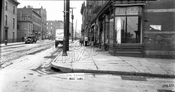 Smith Street looking north from Fourth Street, 1928