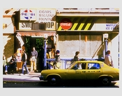 Smoke shop 1970s Long Island City  - Queens NY