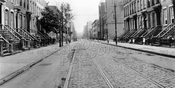South 5th Street looking east to Rodney Street and St. Paul's Church, 1923