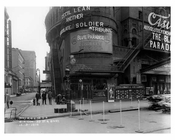 South East corner of  Broadway & 39th Street - Midtown Manhattan - 1915