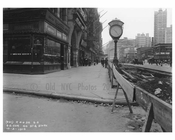 South East corner of  Broadway & 40th Street - Midtown Manhattan - 1915