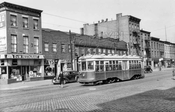 South side Atlantic Avenue, west from Nevins Street to Bond Street, 1948