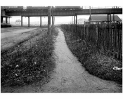 South sidewalk of  Ave T looking east from Lake Street -  1922