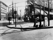 Southeast corner Flatbush Avenue and Bergen Street, 1914