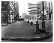 Southeast corner of Broadway & 18th Street - Flatiron District  NY 1915