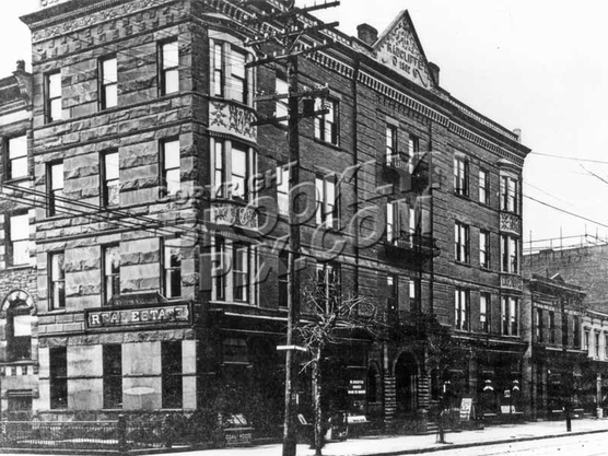 Southeast corner of Ralph Avenue and McDonough Street, 1908