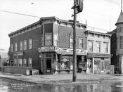 Southwest corner of Prospect and Greenwood Avenues, 1928