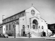 St. Agatha's Roman Catholic Church, 7th Avenue and 49th Street, c.1950