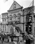 Star Burlesque Theater, 391-393 Jay Street, between Willoughby and Fulton Streets, 1928