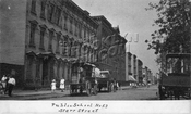 Starr Street looking north from Central Avenue to Wilson Avenue showing P.S.53, 1906