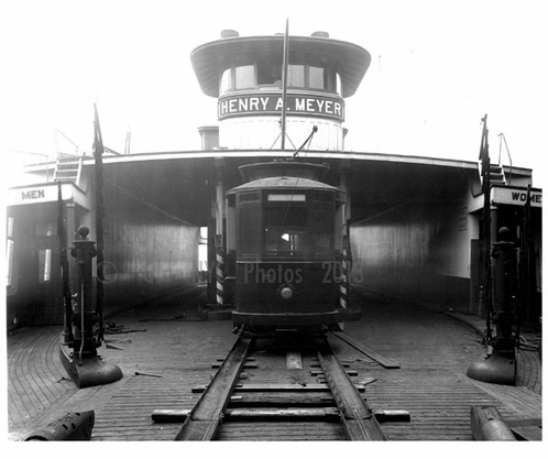 Staten Island & Midland Railroad - loaded on the ferry to Brooklyn 1924