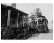 Staten Island Midland Trolley 312 on Richmond Road circa 1923