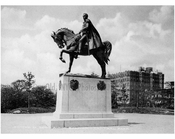 Statue of General Simon Bolivar in Central Park
