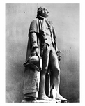 Statue of George Washington at the Worlds Fair 1939 - Flushing - Queens - NYC