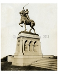 Statue of Joan of Arc - Riverside Drive NYC  1917