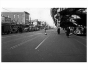 Stillwell North from Surf Ave 1943 Coney Island Brooklyn NY