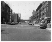 Stone Avenue looking north at Riverdale Ave towards Livonia Avenue 1964