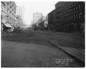Street Scene - 7th Avenue between 20 &21st  Streets November 4th 1915 Chelsea, Manhattan