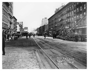Street Scene - 7th Avenue between 28th & 29th Streets November 4th 1915 Chelsea, Manhattan