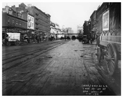 Street Scene - 7th Avenue between 29 & 30st  Streets November 4th 1915 Chelsea, Manhattan