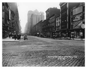 Street scene in midtown - Herald Square Hotel in the distance 1917 New York, NY