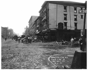Street scenes on 7th Avenue & West 26th Street Chelsea NYC  August 1916