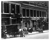 street view - Horse & Wagon - Midtown Manhattan 1911