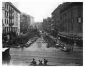 Street view of Elm & Spring Sts. - Soho - New York, NY 1901