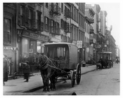 Street view on West 30th - Chelsea - Manhattan  1914