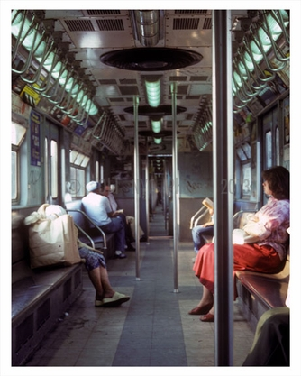 NYC Subway Scene in 1978