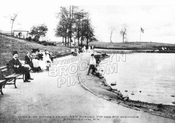 Sunset Lake Park, later replaced by Sunset Pool, c.1915