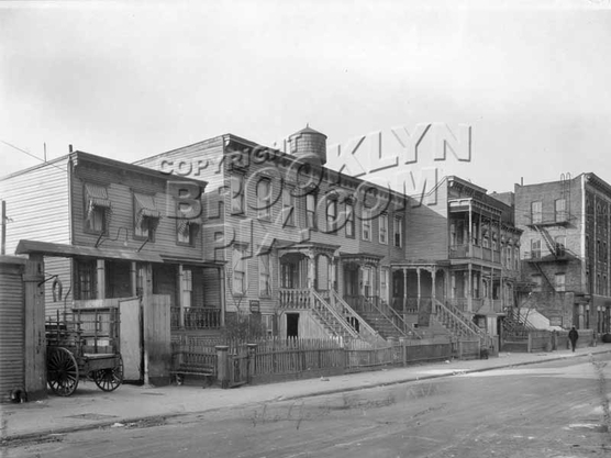 Thatford Street looking north toward Osborn Street, 1928
