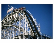 The Cyclone at Coney Island 1988-89 Brooklyn, NY